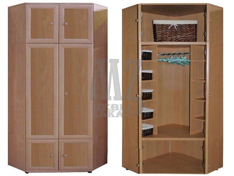 Злата а шкаф угловой (мебель-украина-холдинг) - шкафы, пенал.
